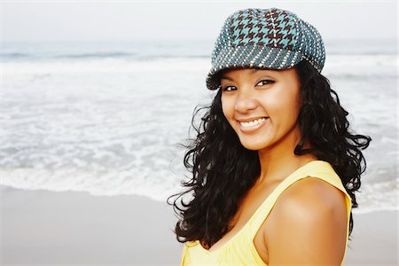 peter griffith - Portrait of Woman Wearing Hat Stock Photo - Rights-Managed, Code: 700-03814386