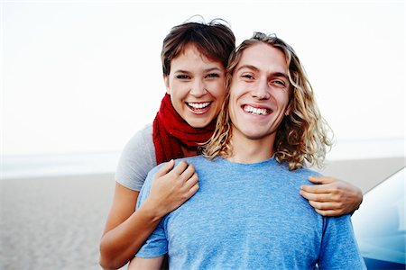 Portrait of Couple Stock Photo - Rights-Managed, Code: 700-03814398