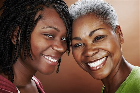 daughter middle-aged mother women young adults - Portrait of Mother and Daughter Stock Photo - Rights-Managed, Code: 700-03836216