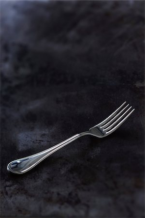 fork - Still Life of Antique Silver Fork Stock Photo - Rights-Managed, Code: 700-03849210