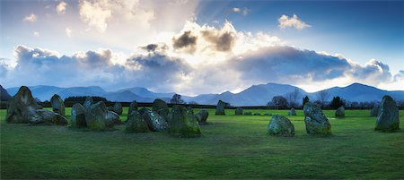 prehistoric - Castlerigg Stone Circle, The Lake District, Cumbria, England Stock Photo - Rights-Managed, Code: 700-03849723