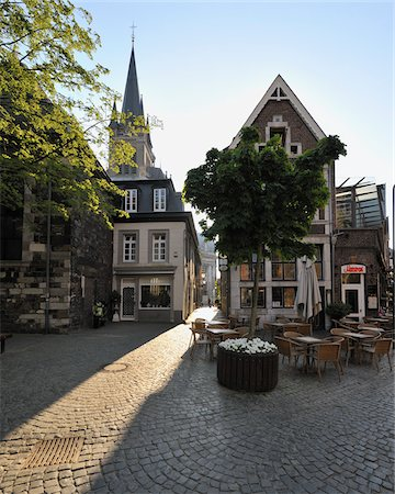 quaint - Historic Town Centre, Aachen, North Rhine-Westphalia, Germany Stock Photo - Rights-Managed, Code: 700-03891064
