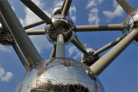 Atomium, Brussels, Belgium Stock Photo - Rights-Managed, Code: 700-03891080