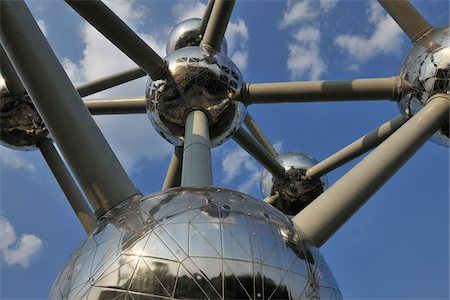 Atomium, Brussels, Belgium Stock Photo - Rights-Managed, Code: 700-03891080