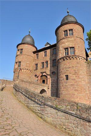Burg Wertheim, Wertheim, Baden-Wurttemberg, Germany Stock Photo - Rights-Managed, Code: 700-03891122