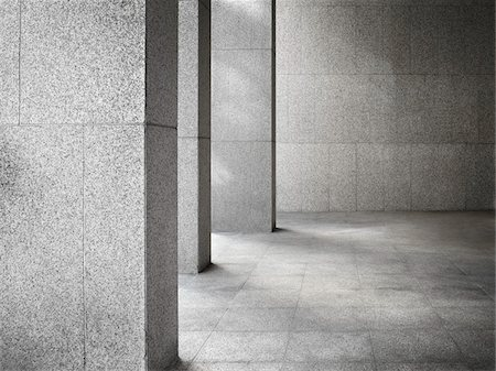 Office Building Columns Stock Photo - Rights-Managed, Code: 700-03891185