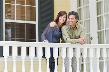 Couple on Porch Stock Photo - Rights-Managed, Code: 700-03891344