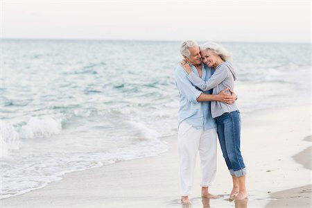 Couple on Beach Stock Photo - Rights-Managed, Code: 700-03891375