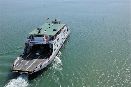 Ferry on Bodensee, Friedrichshafen, Baden-Wurttemberg, Germany Stock Photo - Rights-Managed, Code: 700-03893425