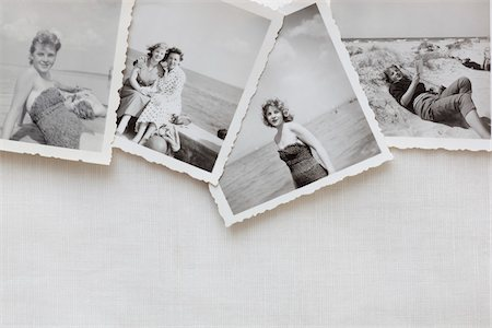Still Life of Vintage Photographs Stock Photo - Rights-Managed, Code: 700-03907106