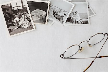 Still Life of Vintage Photographs Stock Photo - Rights-Managed, Code: 700-03907107