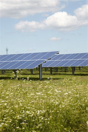 solar power - Solar Panels, Niebull, Germany Stock Photo - Rights-Managed, Code: 700-03958142