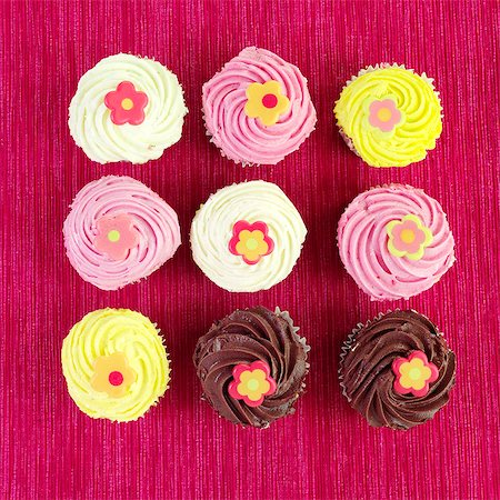 Cupcakes Stock Photo - Rights-Managed, Code: 824-06491234