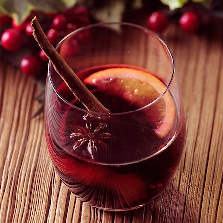 festive - Mulled Wine Stock Photo - Rights-Managed, Code: 824-06491851