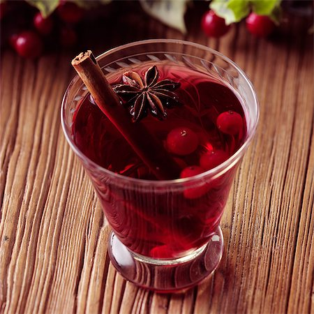 spicy - Spiced Cranberry Cider Stock Photo - Rights-Managed, Code: 824-06491860