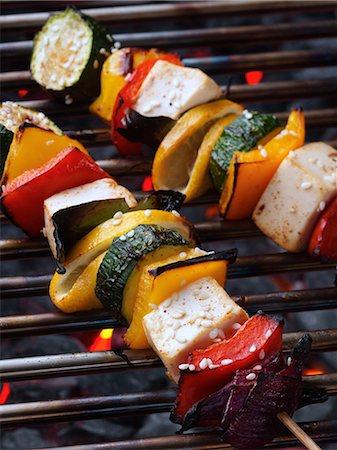 Tofu kebabs Stock Photo - Rights-Managed, Code: 824-07194121