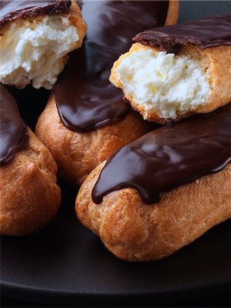 Eclairs Stock Photo - Rights-Managed, Code: 824-07194185