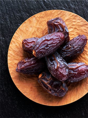 dry - American Medjool dates Stock Photo - Rights-Managed, Code: 824-07194235