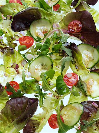 salad - Tossed salad Stock Photo - Rights-Managed, Code: 824-07193378