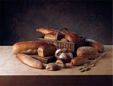 Bread Stock Photo - Rights-Managed, Code: 824-07193487