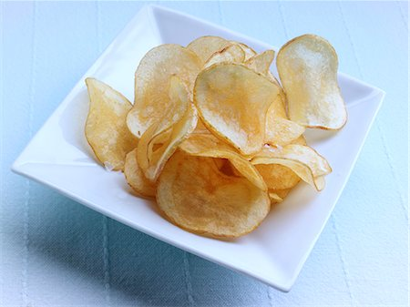 snack - A bowl of game chips Stock Photo - Rights-Managed, Code: 824-07193537