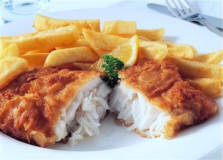 french (places and things) - Cod and chips Stock Photo - Rights-Managed, Code: 824-07193560