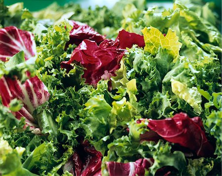Lettuce leaves Stock Photo - Rights-Managed, Code: 824-07193788