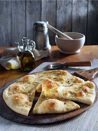 salt - White pizza Stock Photo - Rights-Managed, Code: 824-07586202