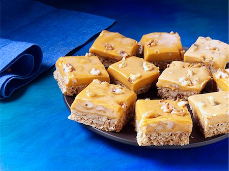 Pumpkin butterscotch bars Stock Photo - Rights-Managed, Code: 824-07586358