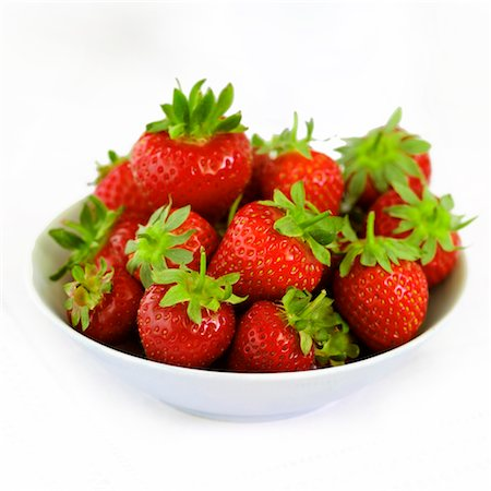 Strawberries and Cream Stock Photo - Rights-Managed, Code: 824-03722025
