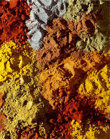 paprika - Selection of spices Stock Photo - Rights-Managed, Code: 825-05985366