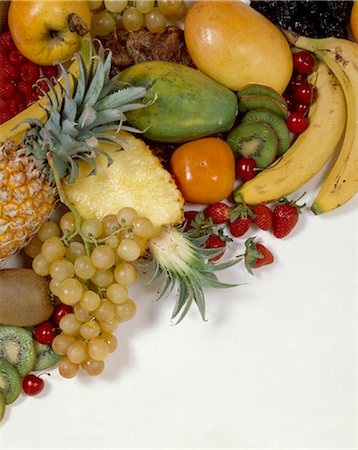 selection of fruit Stock Photo - Rights-Managed, Code: 825-05985798