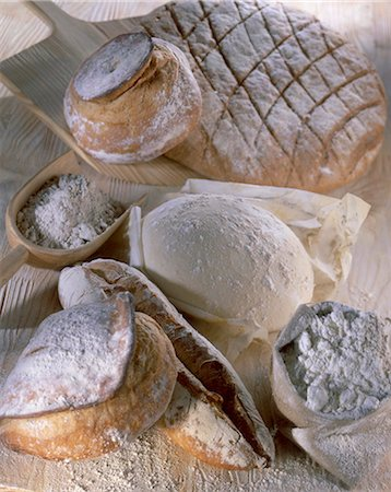 composition of bread Stock Photo - Rights-Managed, Code: 825-05987601