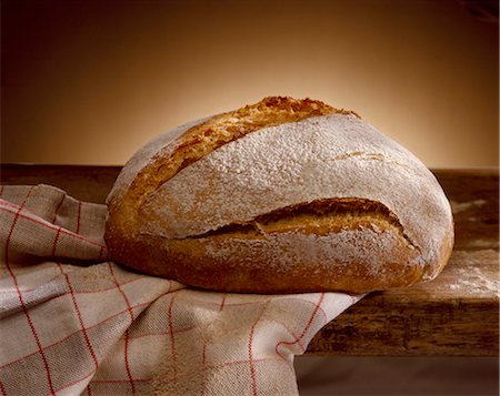 loaf of bread Stock Photo - Rights-Managed, Code: 825-05987621