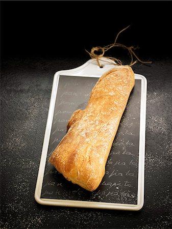 slate - Ciabatta bread Stock Photo - Rights-Managed, Code: 825-06815932