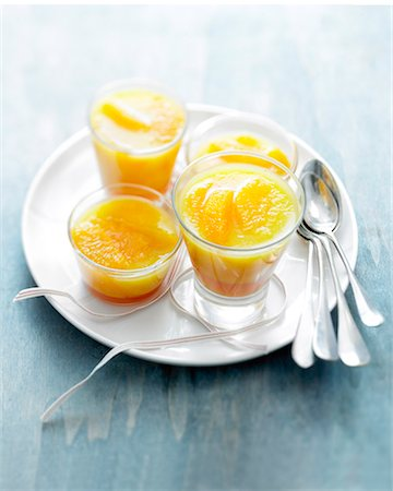 Oranges with pomegranate jelly Stock Photo - Rights-Managed, Code: 825-06816501
