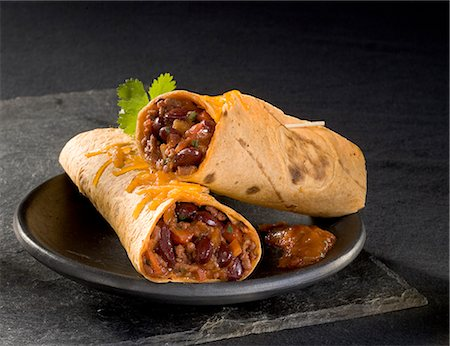 Chili con carne burritos Stock Photo - Rights-Managed, Code: 825-07077509