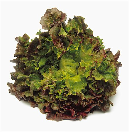 Cut-out lettuce Stock Photo - Rights-Managed, Code: 825-07078202