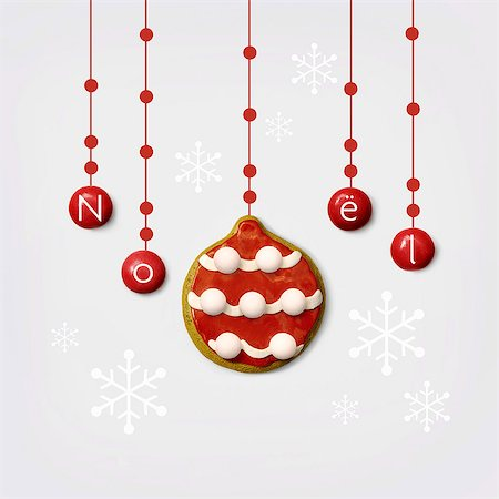 Christmas cookie Stock Photo - Rights-Managed, Code: 825-07523001