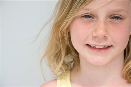 Portrait of Young Girl Stock Photo - Rights-Managed, Code: 822-05554513