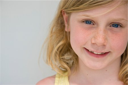 Portrait of Young Girl Stock Photo - Rights-Managed, Code: 822-05554582