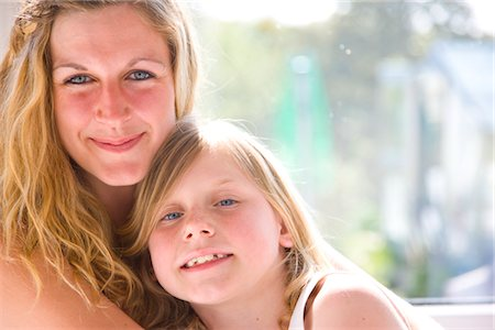 Portrait of Mother and Daughter Stock Photo - Rights-Managed, Code: 822-05554660