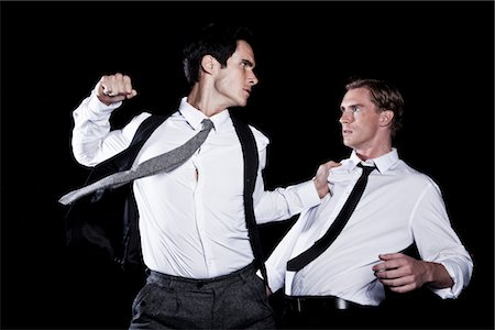 Two Businessmen Fighting Stock Photo - Rights-Managed, Code: 822-05554866