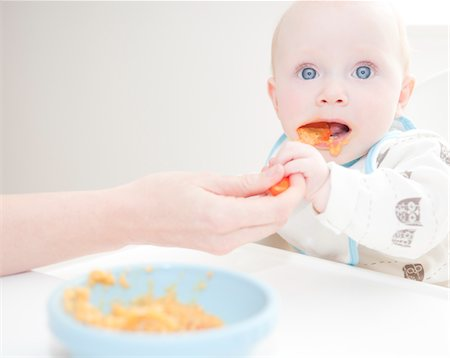 Mother Feeding Baby Stock Photo - Rights-Managed, Code: 822-05554906