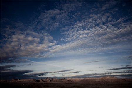 Mountain Landscape and Cloud Formations Stock Photo - Rights-Managed, Code: 822-05555172