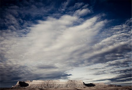 Mountain Landscape and Cloud Formations Stock Photo - Rights-Managed, Code: 822-05555173