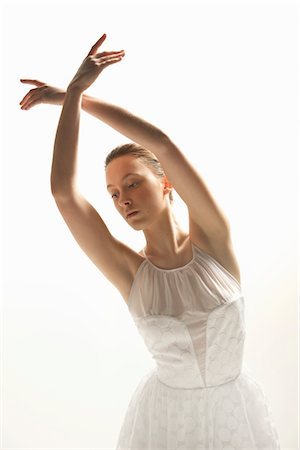 Ballerina Dancing Stock Photo - Rights-Managed, Code: 822-05948345