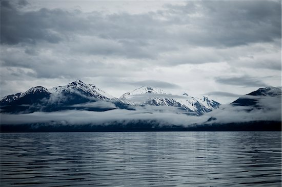 Clouds Formation over Mountains, Admiralty Island, Alaska, USA Stock Photo - Premium Rights-Managed, Artist: ableimages, Image code: 822-05948400