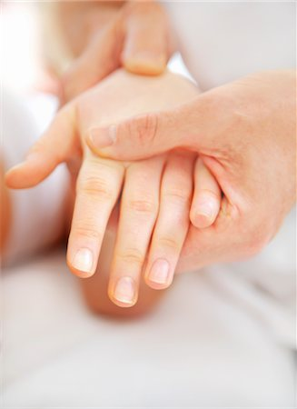 female hand - Osteopath Treating Woman's Wrist, Close up view Stock Photo - Rights-Managed, Code: 822-05948480