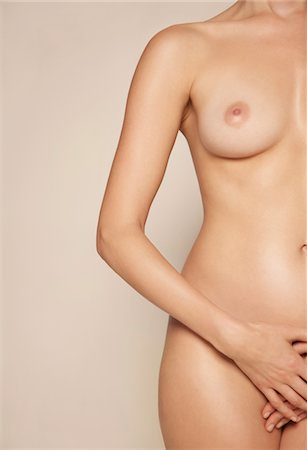 Nude Woman, Headless Stock Photo - Rights-Managed, Code: 822-05948601
